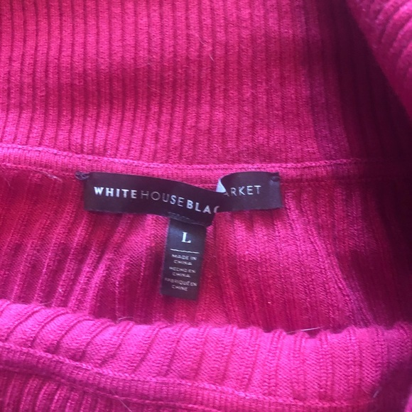 White House Black Market Sweaters - White House black market pink sweater